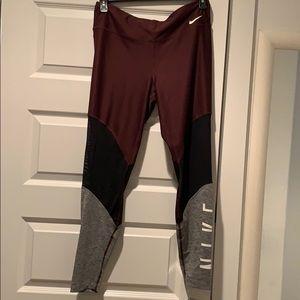 Nike Dri-Fit Color Block Leggings - Brand New